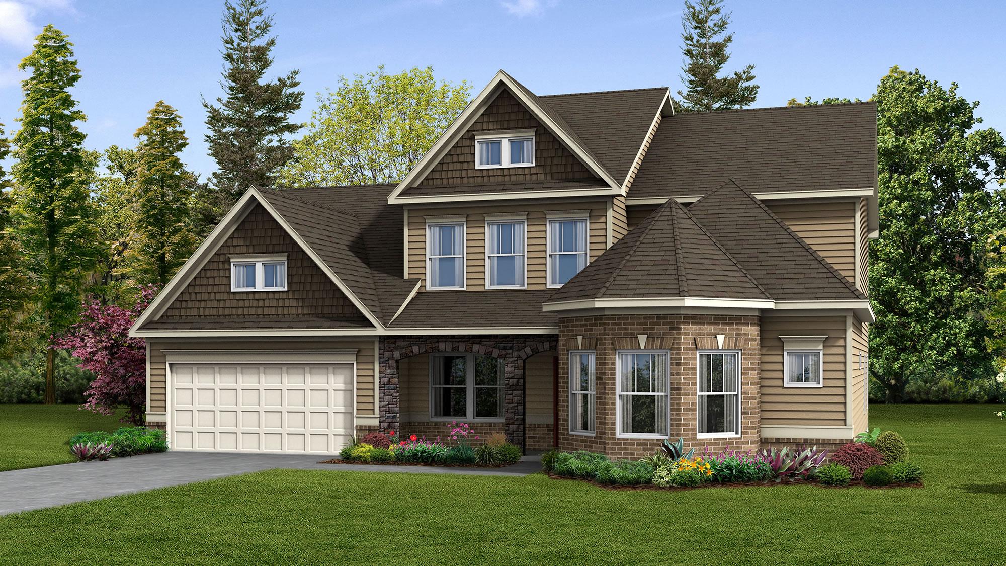Meritage Homes Quincy Interactive Floor Plan