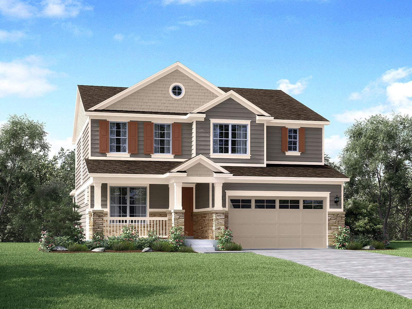 Meritage Homes The Ridgeline Interactive Floor Plan