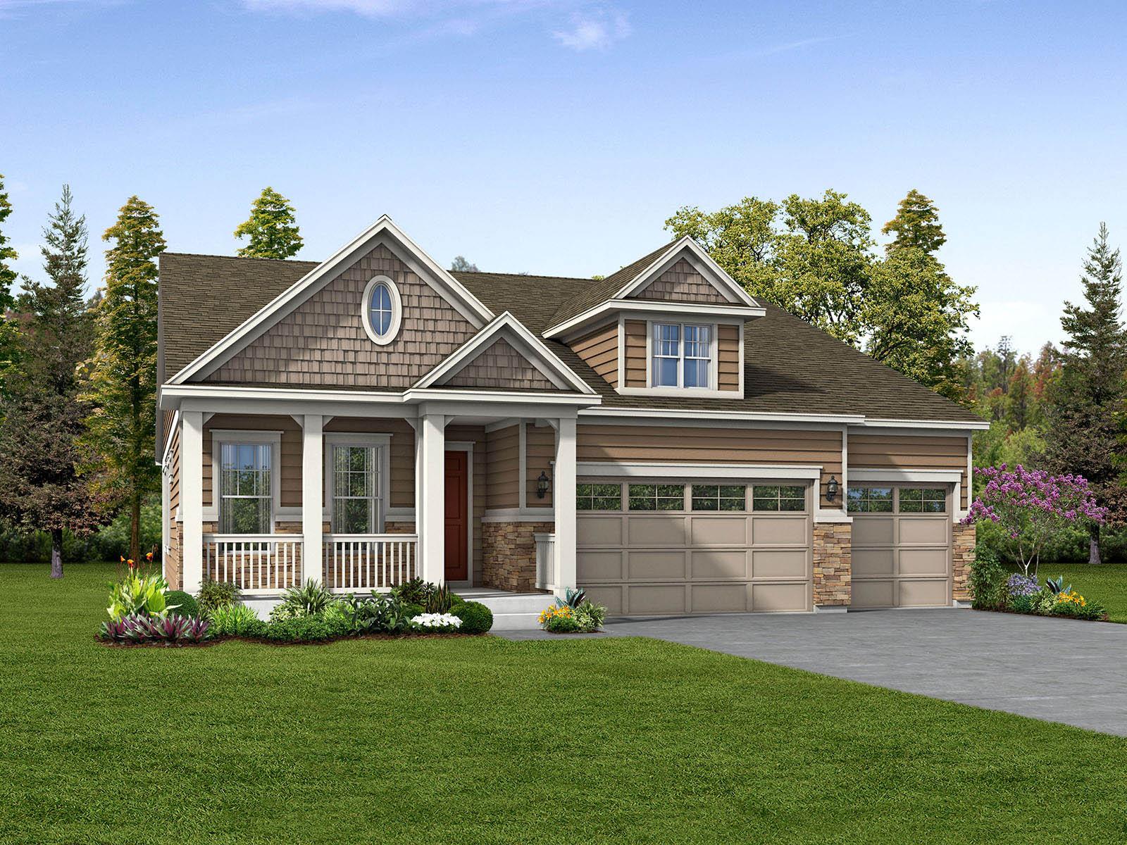 Meritage Homes The Granby Interactive Floor Plan