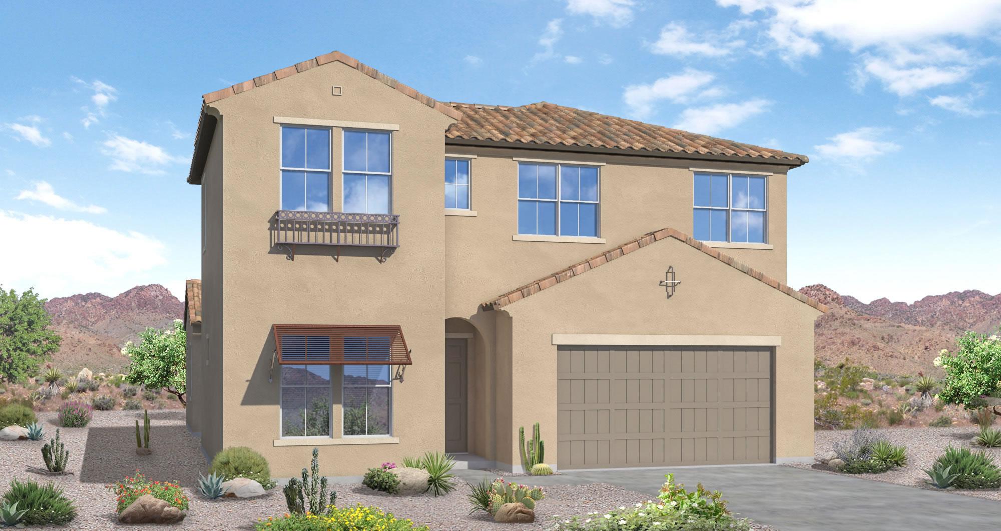 javelina model 4 bedroom 3 5 bath new home in peoria az